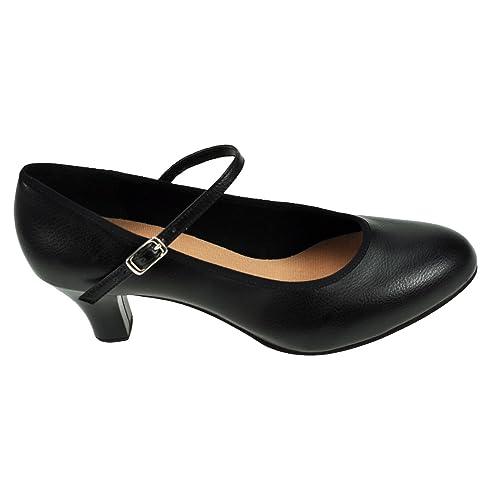 vraiment à l'aise magasin britannique dernières tendances de 2019 Bloch Chaussures de caractère 324 Kickline: Amazon.fr ...