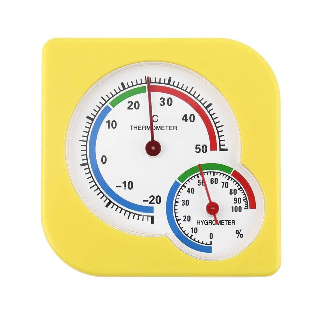 Liobaba Hygrometer Humidity Gauge Indicator Digital Indoor Thermometer Room Temperature and Humidity Monitor by Liobaba (Image #1)