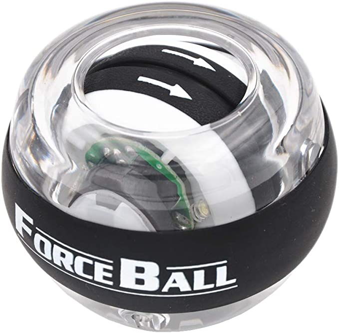 Details about  /LED Wrist Ball Trainer Gyroscope Strength Muscle Training Pressure Relieve