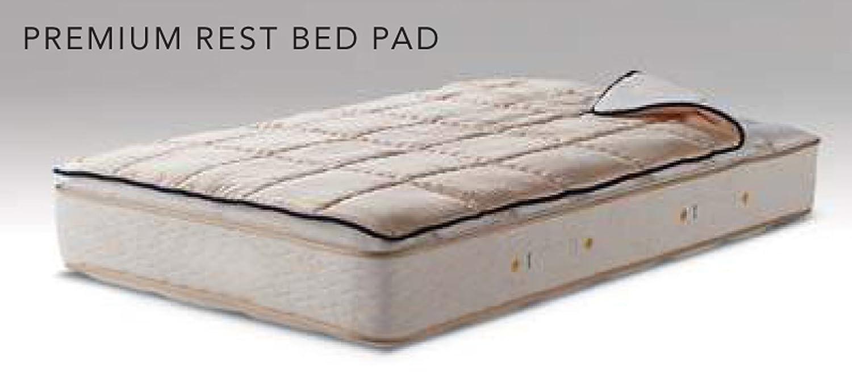 シモンズ プレミアムレストベッドパッド シングルサイズ B01N68C1G5
