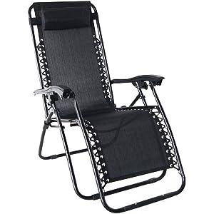 Odaof Zero Gravity Chair Black