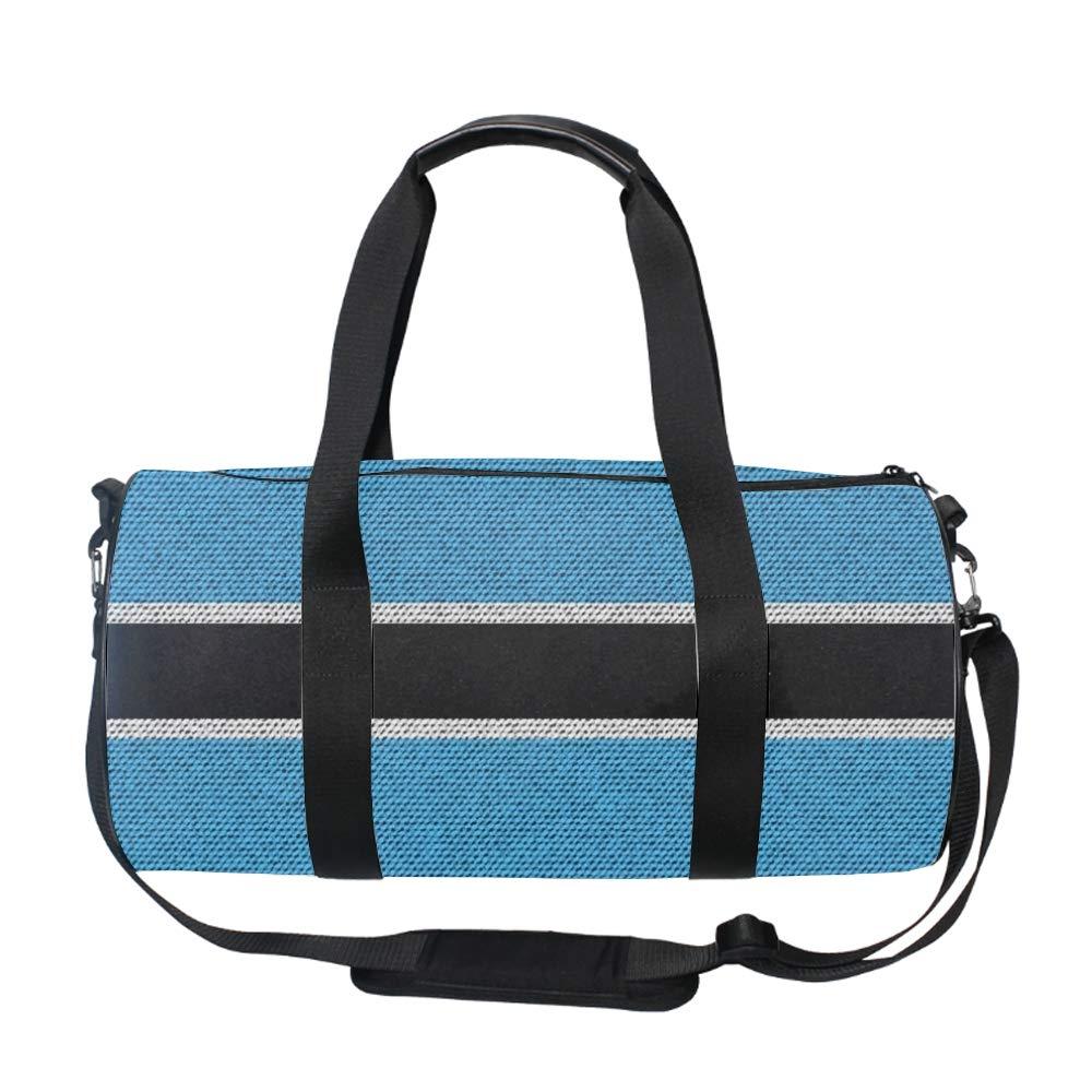 Weekend Travel Bag Ladies Kiribati Flag Duffle Tote Bags Overnight Bag