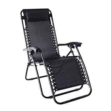 zero gravity chairs with sunshade svago recliner reviews lounge patio pool chair black diy