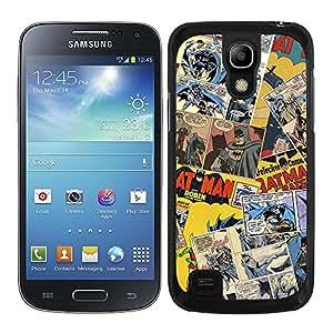 Funda carcasa para Samsung Galaxy S4 Mini diseño cómic 1 borde negro