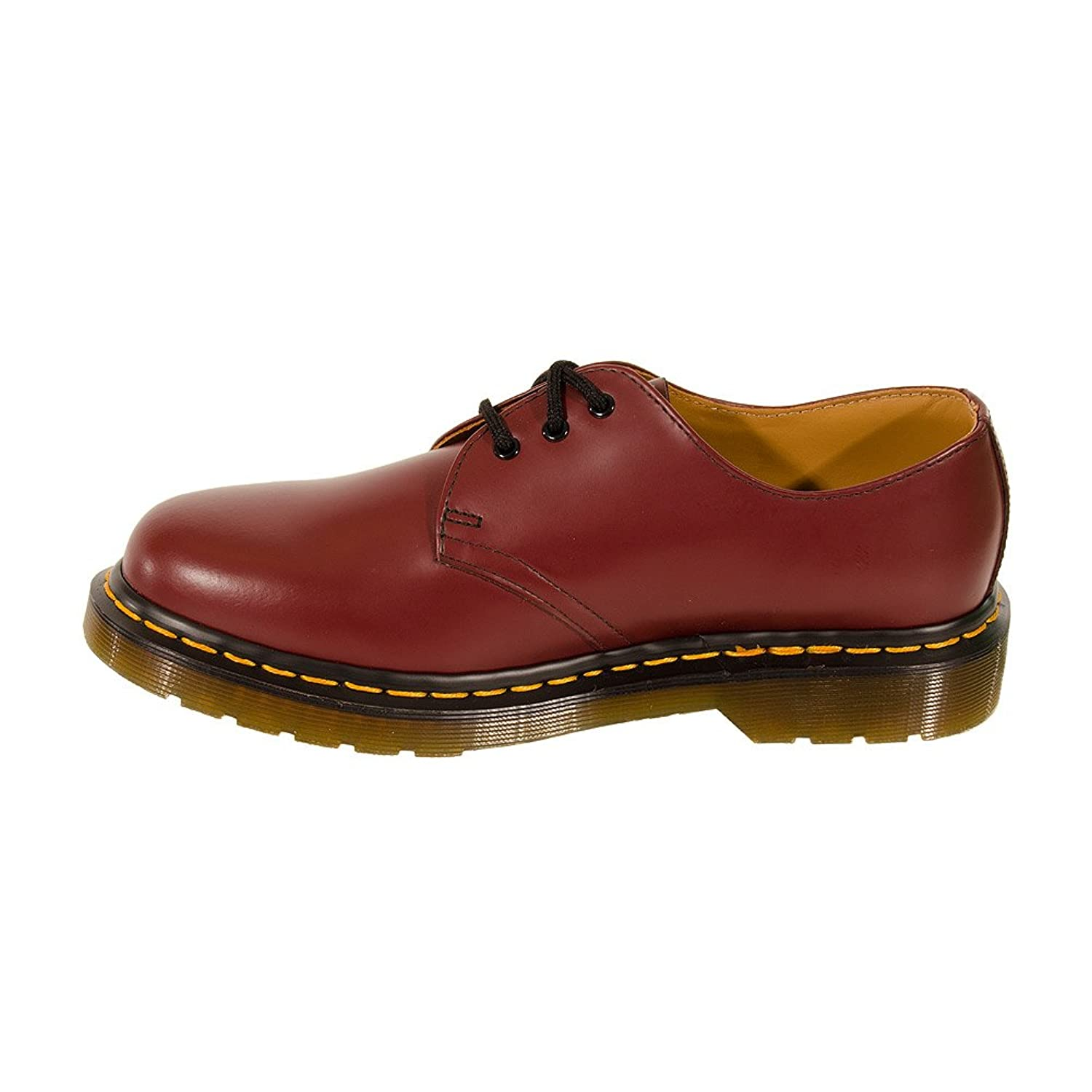 1461 Smooth 10078102-2, Baskets mode mixte adulte, Rouge (Cherry Red Smooth), 37 EUDr. Martens