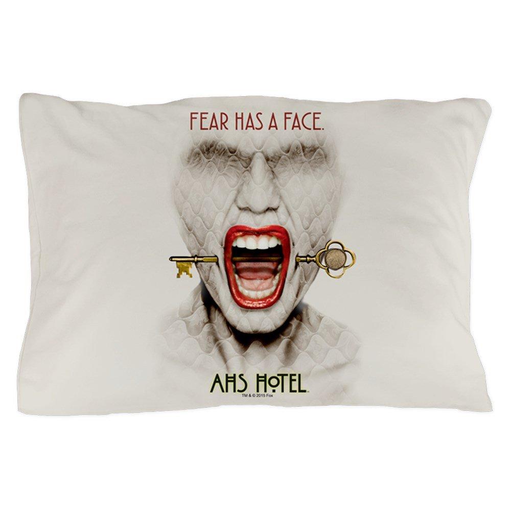 CafePress - AHS Hotel Fear Has A Face - Standard Size Pillow Case, 20''x30'' Pillow Cover, Unique Pillow Slip