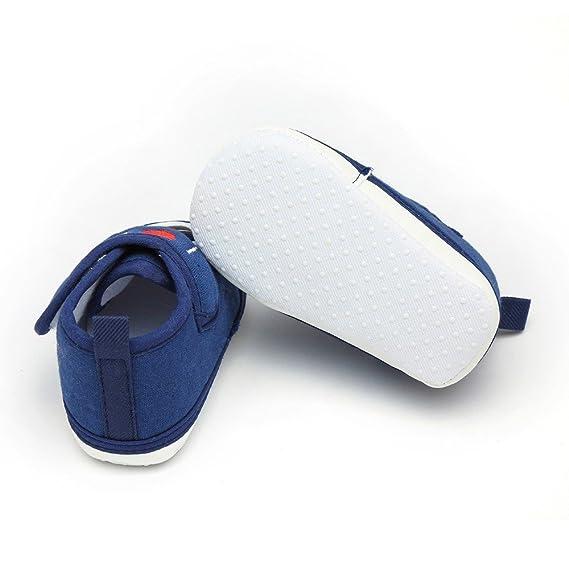 ❤ Zapatos de bebé Primer Paso,Recién Nacido niños pequeños niñas Carta corazón corazón Antideslizante Suela Suave Zapatos Casuales Absolute: Amazon.es: ...