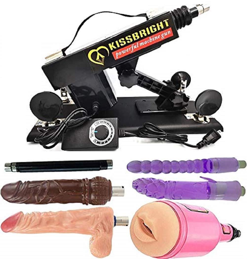 A6 Style Retractable Thrusting Machine Gun Enjoyment Massage Sèx Machine with Upgrade Motor ...