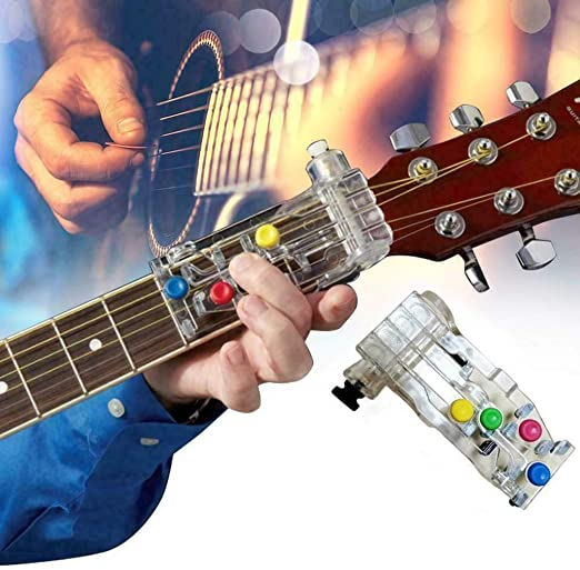 NEW Original E-Z CHORD easy buddy guitar attachment device CD+Book FREE SHIPPING
