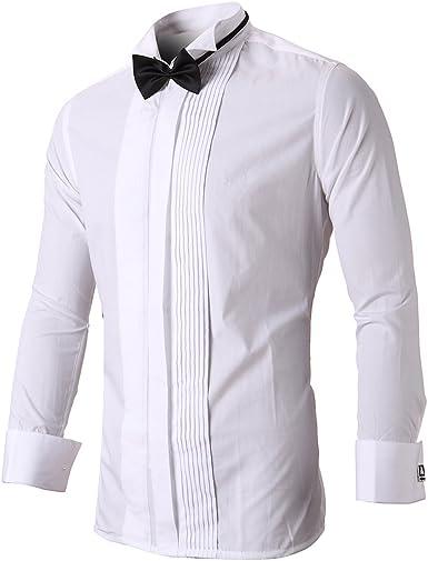 Inflación Camisa de Hombre de Fibra de bambú umweltfreudlich elástico Slim Fit para el Ocio Business
