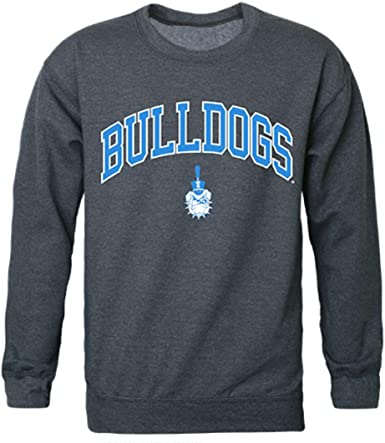 W Republic The Citadel Bulldogs Arch Crewneck Pullover Sweatshirt Sweater Navy