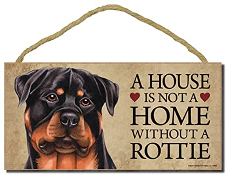 Amazon.com: Rottweiler Cartel para puerta de