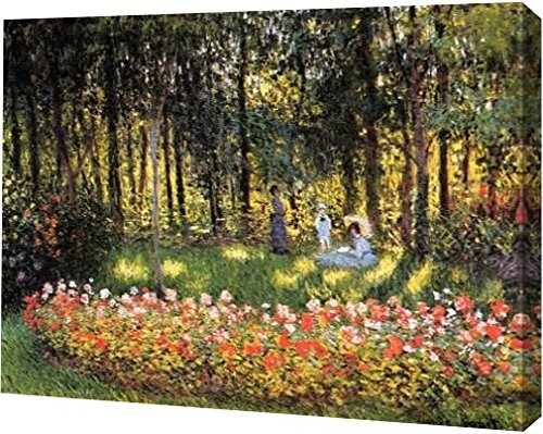 The Artist's Family in the Garden by Claude Monet - 15