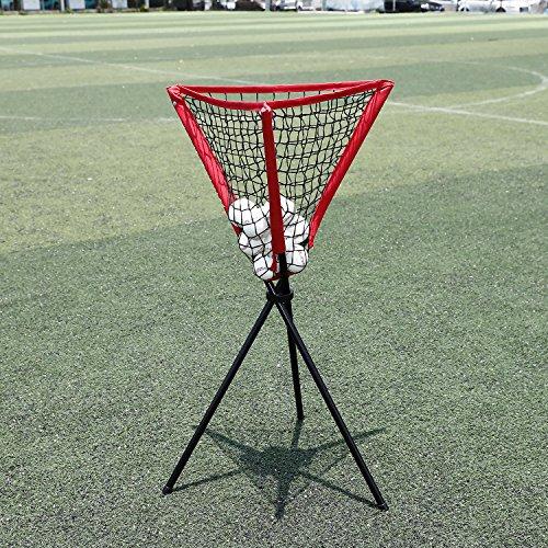 - Baseball Softball Batting Practice Portable Ball Caddy with Free Storage Bag