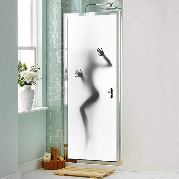 Hot Sexy Girl baño Puerta Pegatina extraíble PVC 3D Puerta Mural Pegatina Impermeable Dormitorio decoración de la Pared decoración de la Puerta -95x215cm: Amazon.es: Hogar
