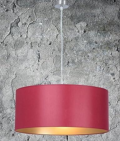 Clásica Lámpara de techo, de alta calidad Colgante | Rojo Oro | XXL | lámpara de techo, Salón, comedor | Dormitorio | Cocina | Diámetro 55 cm | ...