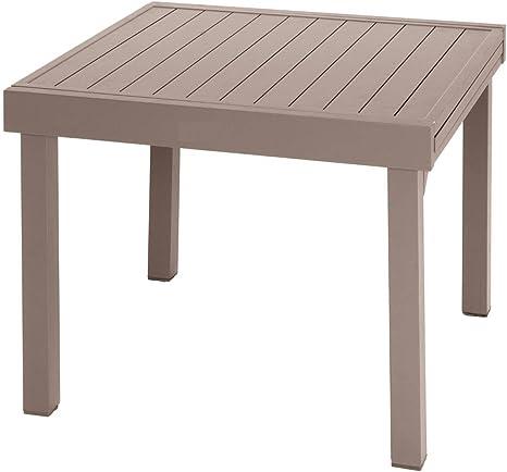 Tavolo Allungabile Alluminio Piazza 4 8 Posti Tonka Amazon It Giardino E Giardinaggio