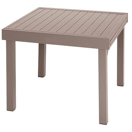 Tavoli Allungabili In Alluminio.Hesperide Tavolo Allungabile Alluminio Piazza 4 8 Posti Tonka