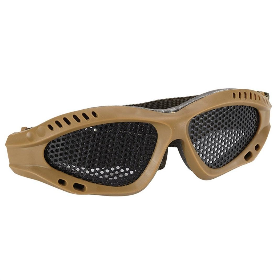 NEEDRA Safety Glasses Goggles Anti-explosion Outdoor Protective Eyewear For Nerf Game (Army Green)
