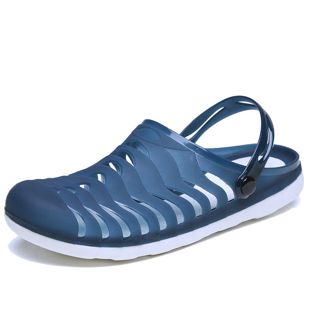 YIRUIYA Men's Women's Garden Clogs Anti-Slip Beach Shower Sandals Slip on Massage Outdoor Walking Summer Slippers