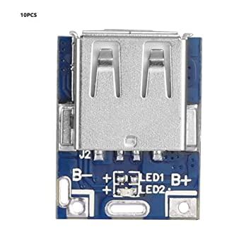 Tablero del Cargador de batería 10pcs, Mini Tablero de la ...