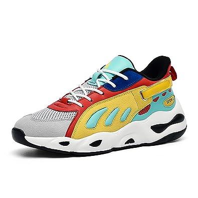 AONETIGER Zapatillas de Deportes Hombre Mujer Zapatos Deportivos Running Zapatillas para Correr El público es el más Llamativo.