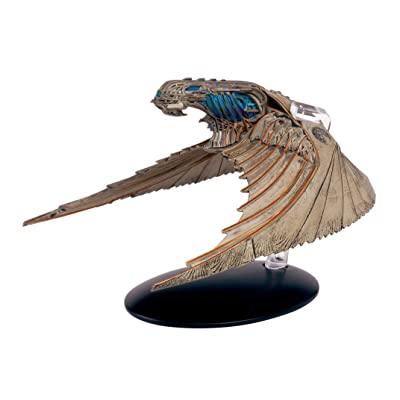Eaglemoss Star Trek Discovery Klingon Bird of Prey Vehicle with Collector Magazine #4, Multicolor 641945985276: Toys & Games