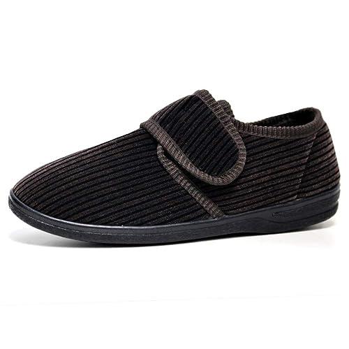 Dunlop - Grand Homme Carve Main Formateurs Tactiles Confort Chaussures - Taille 41-46 vente ebay Livraison gratuite parfaite 1kfsHC