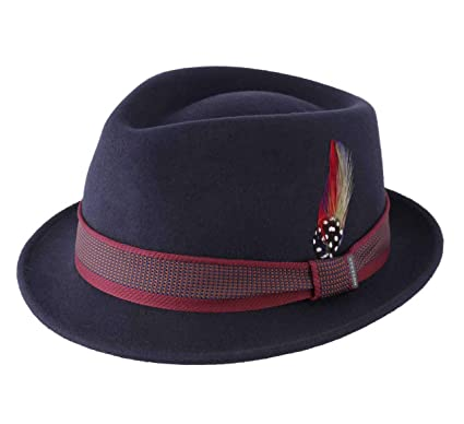 bfbd8c1fe Stetson - Trilby Hat Wool Felt Packable Water Repellent Men Tarsell ...