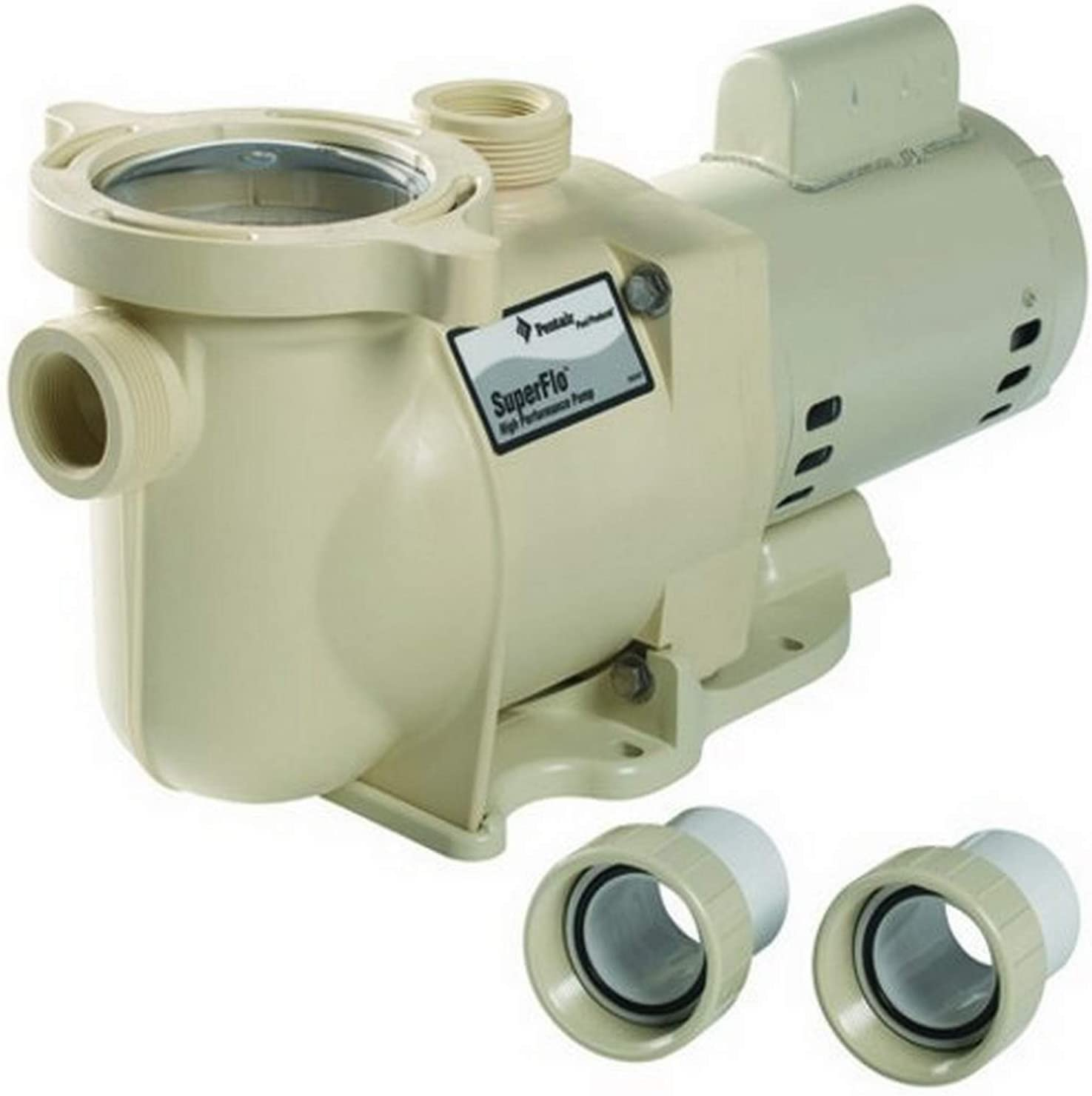 Pentair SF-N1-2AE SuperFlo Single Speed Energy Efficient Pump, 2 HP
