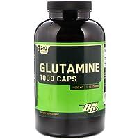 Optimum Nutrition Glutamine 1000 Muscle Recovery Capsules, 240 Capsules