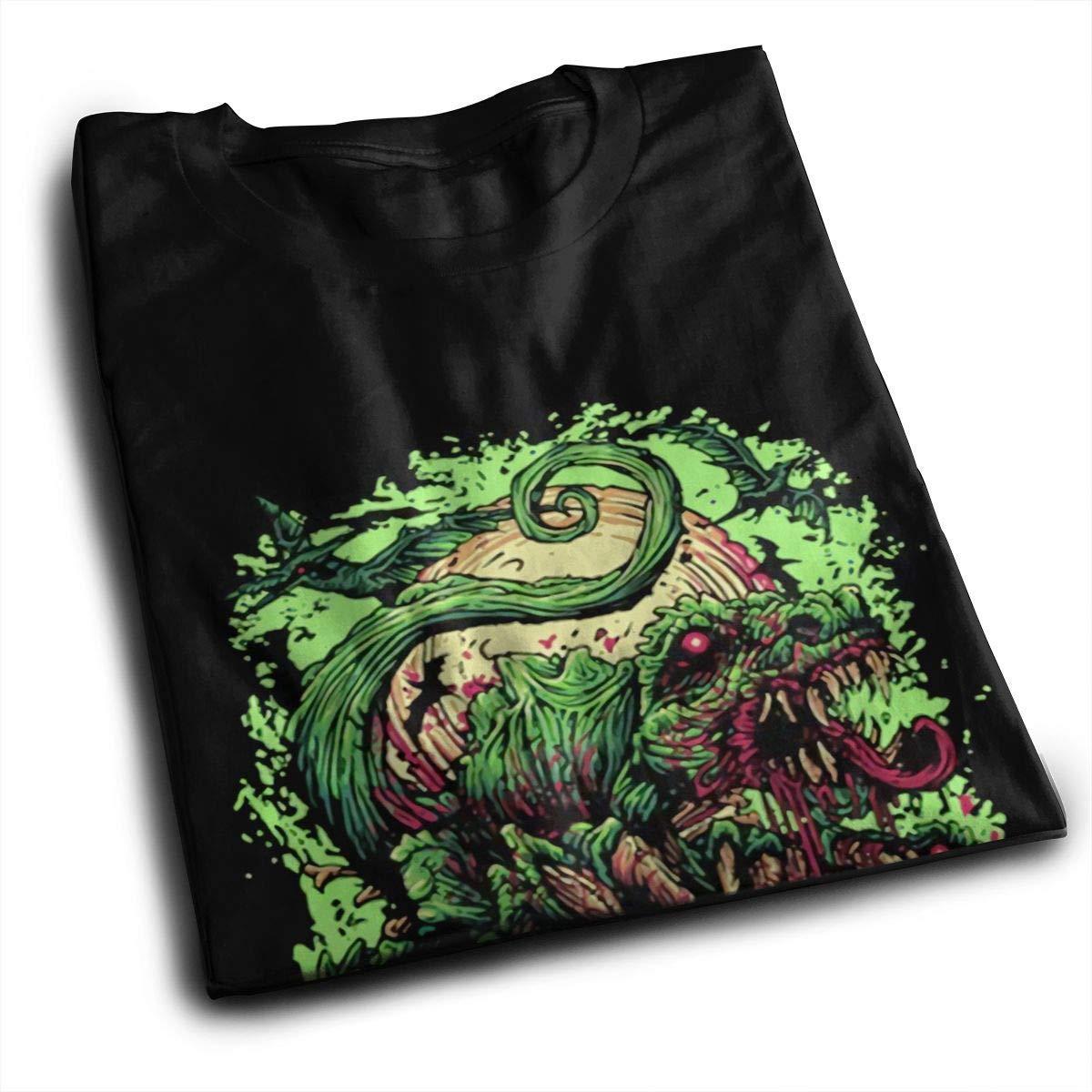 K-deio Men Bring Me The Horizon Dinosaur Cotton Shirt Black