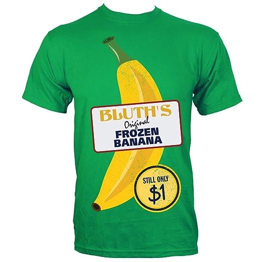 Camicia Di Calcio Mens Banane Congelati Originale Di Bluth GiSNaeN