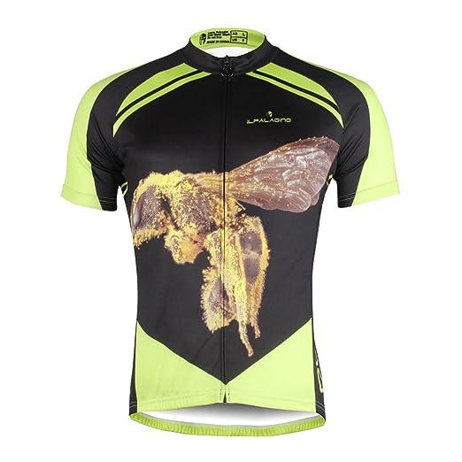 Hstyle Ilpaladino Cycling Jersey Biking Shirt for Men Biking Sportswear Short  Sleeve Polyester Breathable Quick Dry e8814e981