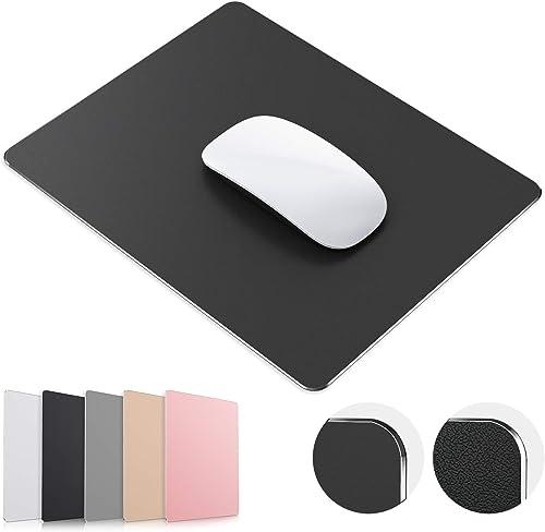 JEDIA Premium Metal Aluminum Mouse Pad