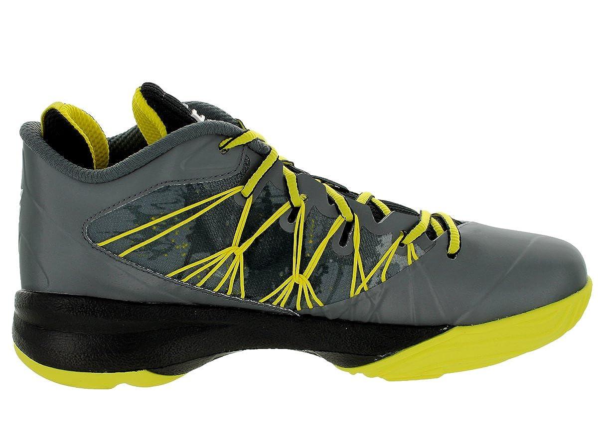 cheap for discount d4667 e9291 Amazon.com   Jordan Nike Men s CP3.VII AE Dark Grey White Blk Vbrnt Yllw  Basketball Shoe 9.5 Men US   Basketball