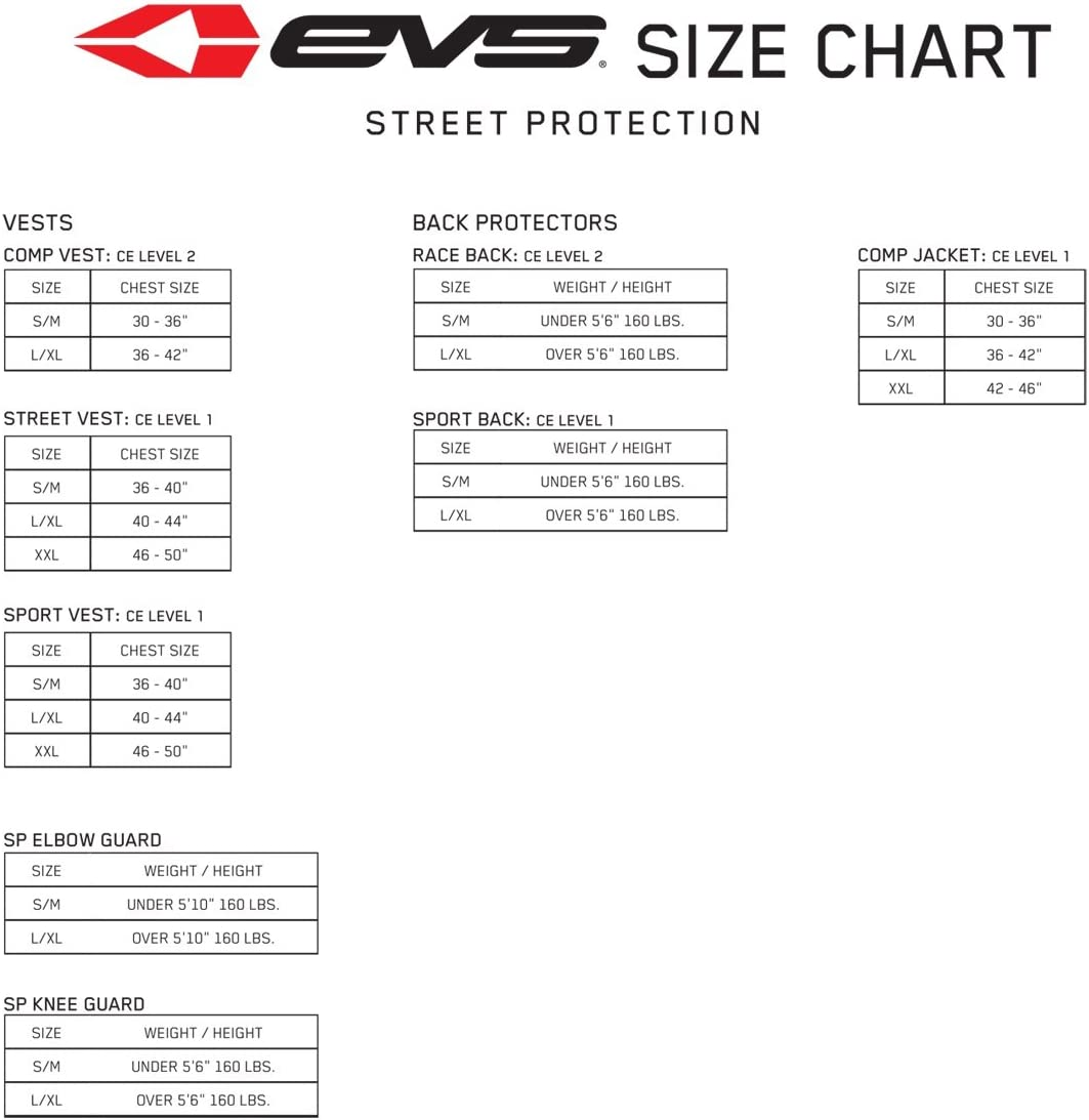 EVS White Revolution 4 Protector One Size