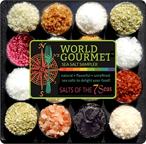 Gourmet Sea Salt (The Gourmet Sea Salt Sampler)