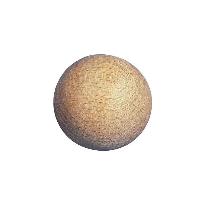 Buche Ø 6-20mm Holzkugeln ohne Bohrung ungebohrt Kugeln Rohholzkugeln natur