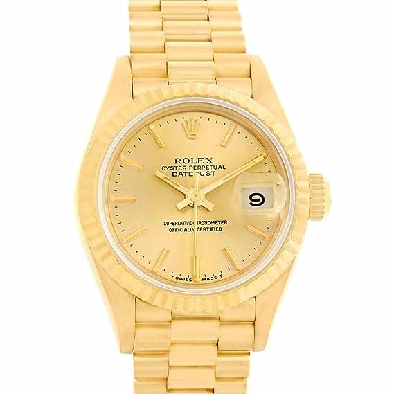 Rolex Datejust 69178 - Reloj automático para mujer (certificado de autenticidad)
