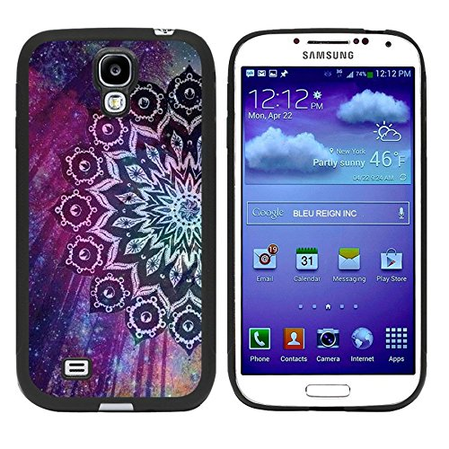 Price comparison product image Galaxy S4 Case,  Laser Technology for Protective Samsung Galaxy S4 Case Black DOO UC (TM) - Mandala sunflower Dream Star forest