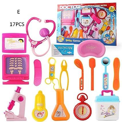 ea8d594dd842e7 Jouet Enfant Docteur Kit Médical Garçons et Filles Accessoires Docteur en  Simulation Infirmière Toy Set Maison