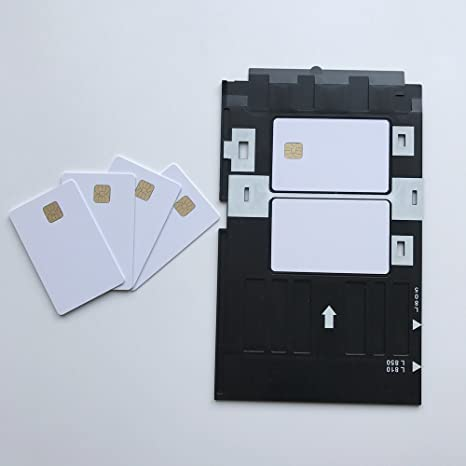 Pvc Id Card Printing Tray For Epson R260 R265 R270 R280 R290 R380 R390 Rx680 T50 T60 A50 P50 L800 L801 R330 Printer Supplies Fast Shipping