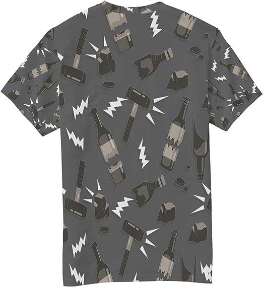 Camiseta básica de Manga Corta para Hombre con diseño de ...