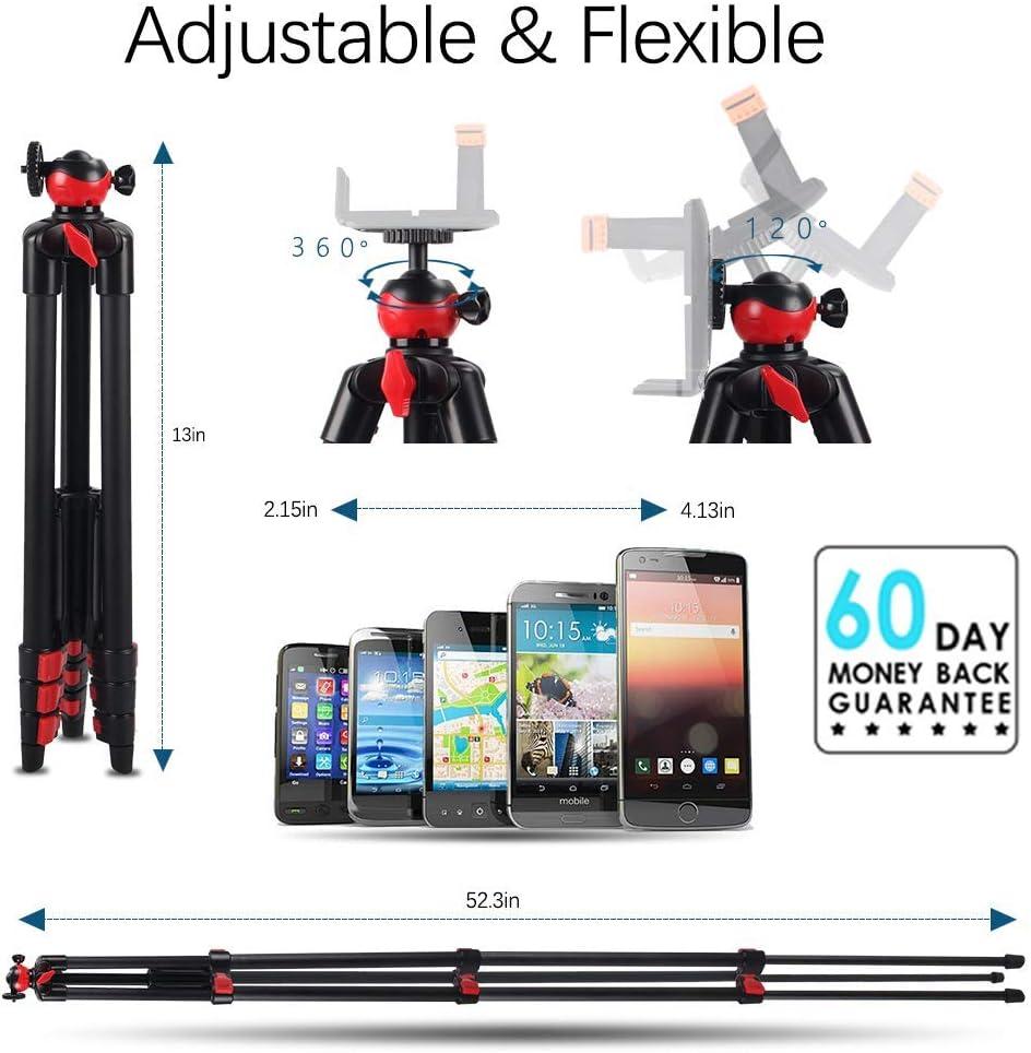ZOMEI Live Panoramic ballhead Tilt 90 deg Foldable Tripod 4-Knot F//Smartphone