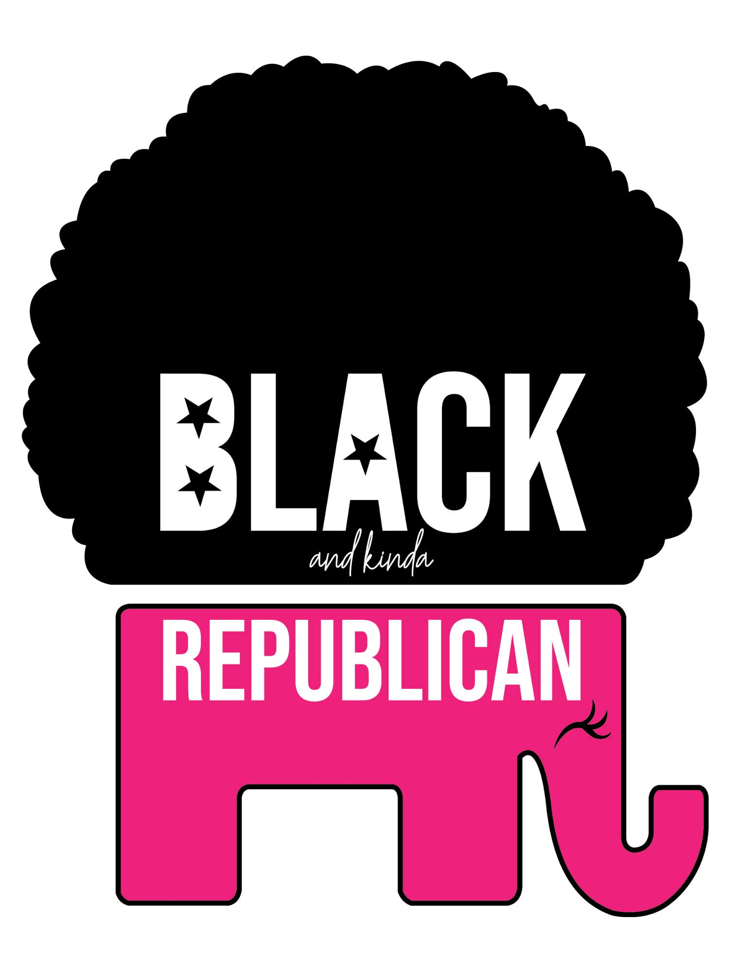 Black and kinda Republican