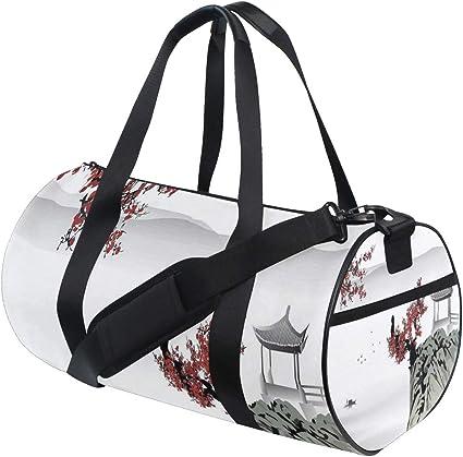 Flower Blossoms Customizable Weekender Bag