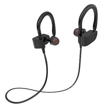 Fozento FT1 auricular inalámbrico Bluetooth para el Deporte Negro: Amazon.es: Electrónica