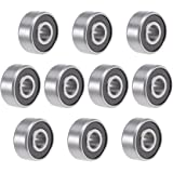 R188ZZ Shielded Bearing 1//4 x 1//2 x 3//16 inch Miniature Ball Bearings VXB Brand