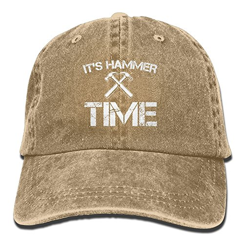 It's Hammer Time Adult Denim Hat For Boy Women Unisex,Men's Female's Peak Cap